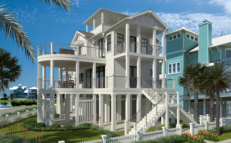 Private beach house in Beachside Village